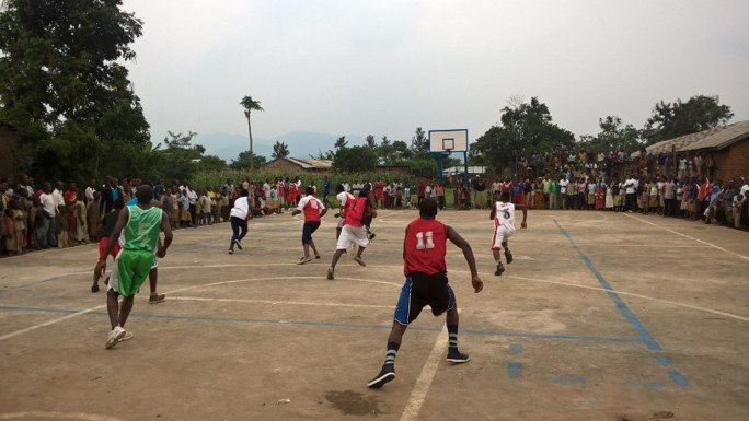 Inter school basketball competition