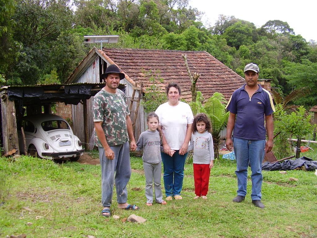 Photo-- Silvas family installation