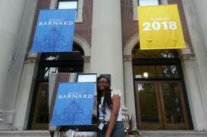 GPFA Scholar Anita at Barnard College, NY