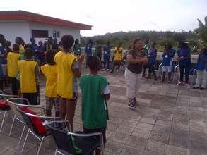 Sports Day  - Peace Through Fair Play Youth Camp