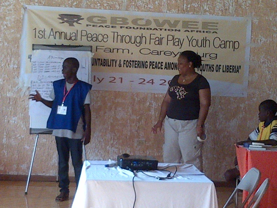 Gender Role Play-Peace Through FairPlay Youth Camp