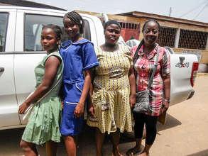 Kemah, Musu & Helena -GPFA's Boarding Students