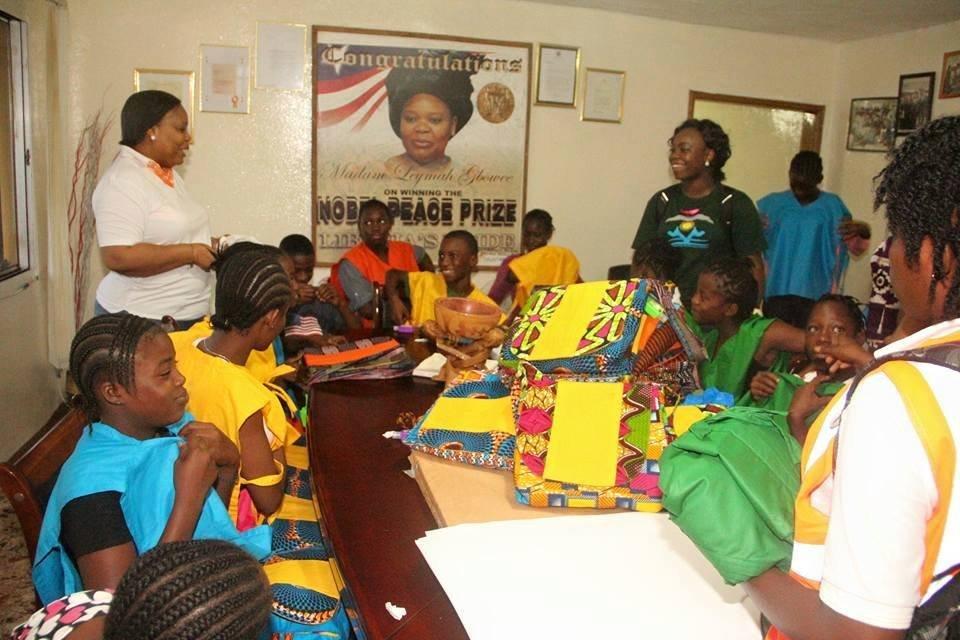 PTFP Youth Camp Prepping!With Leymah & Nurse Naomi