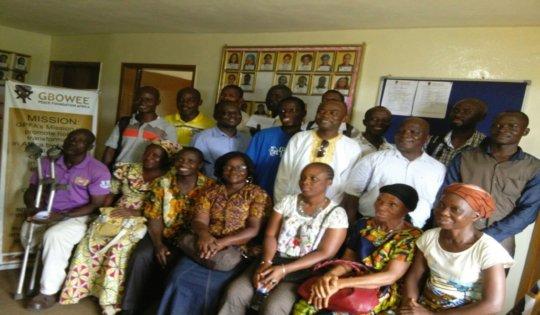GPFA Parental Engagement Meeting Group Photo