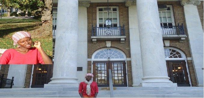 GPFA Scholar Yvonne at Cedar Crest College