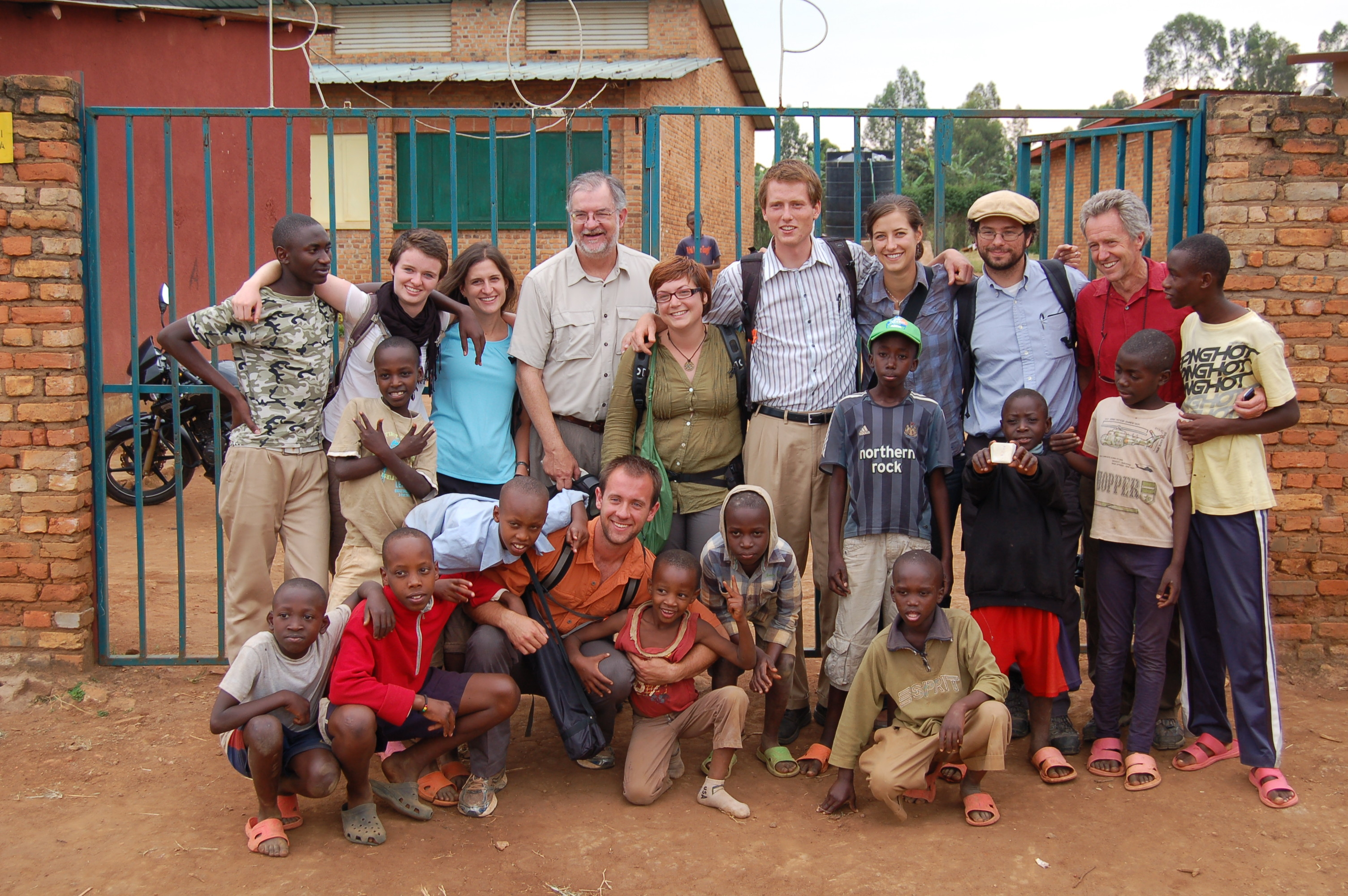 This school project has many people very excited! Even the Dean of the College of Engineering at the University of Colorado came to the orphanage to check out the work that the EWB students are doing!