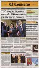 Principal diario peruano destaca premio recibido por Albina Ruiz