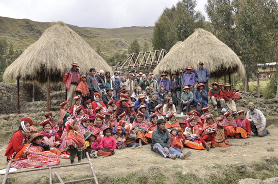 Weavers during the center