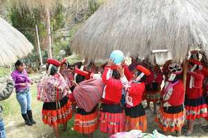 Team building activity in Patacancha