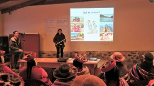 Nelly, Sustainable Tourism Assistant, speaks