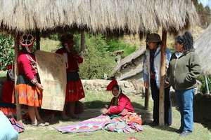 Cultural identity workshop in Patacancha