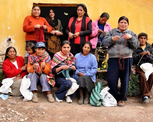 Capacity-building for rural women artisans in Peru