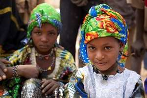 These Malian girls fled Mali for Niger with family