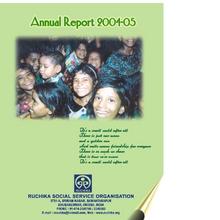 Ruchika Annual Report 2004-05 (PDF)