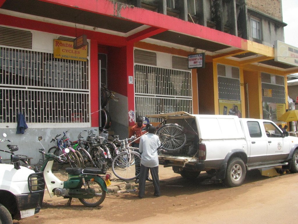 Purchasing bicycles for Kagamba Sub-County