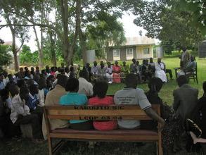 Community meeting, project orientation