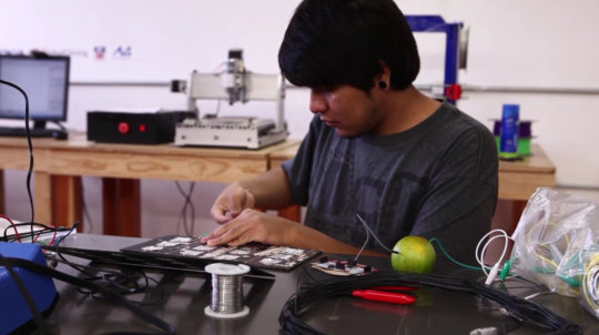 Juan working on its USB controller