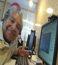 Lourdes Romero, studies computing at the RIA
