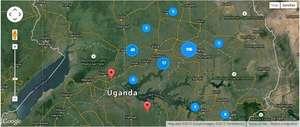 Sample map from International Lifeline Fund