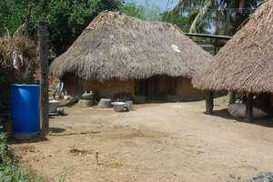 Home before toilet, Endiyur Village