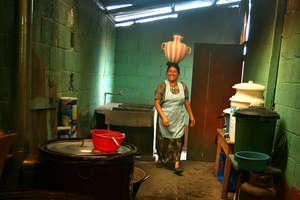 A Guatemalan kitchen