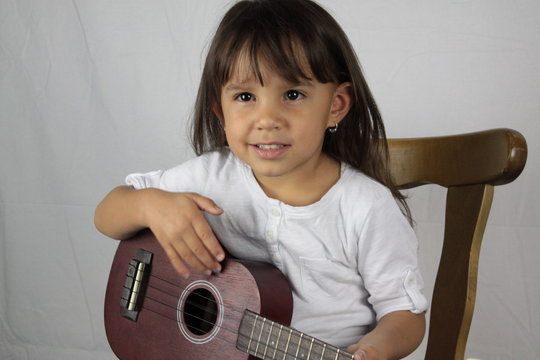 Starting early builds comfort on an instrument