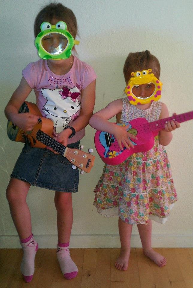 ukulele magic with GITC preschoolers