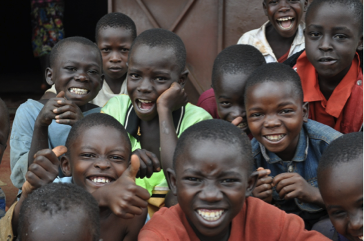 Smiling in Malawi