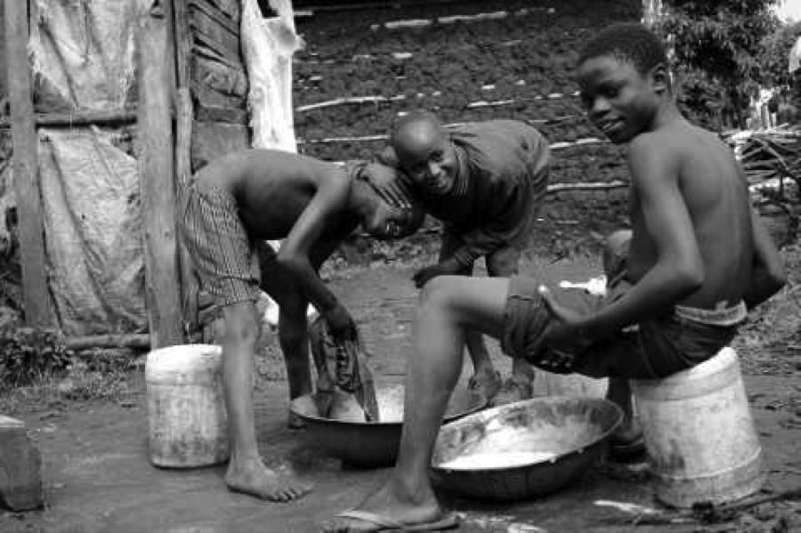 Washing Day at Child Rescue Kenya