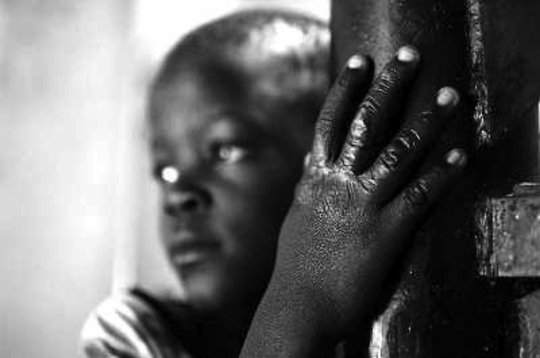 A child at Birunda