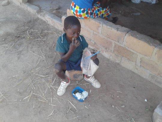 School feeding programme at Singwamba