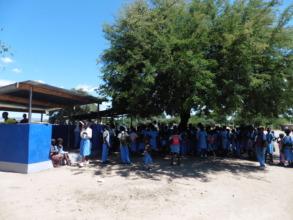 New kitchen shelter for the daily feeding program