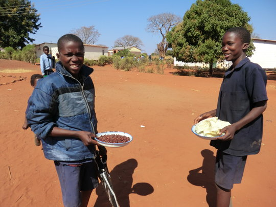 Feeding Program - Mukuni Secondary School