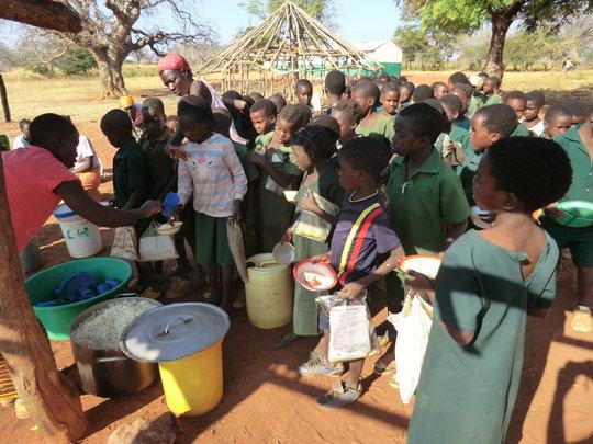 Feeding Program - N'gandu Basic School