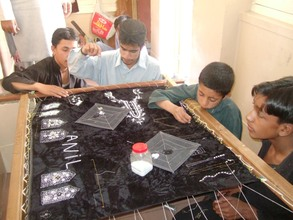 children involved in skill classes