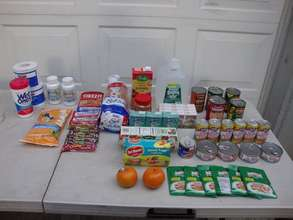River Fund's initial food pack