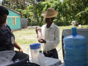 Haiti -  oral rehydration salts