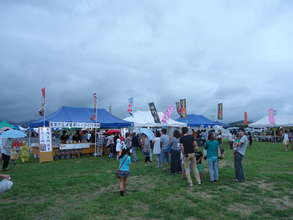 Many stalls sold local culinary specialties