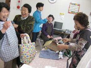 Handmade tote bags (Soma, Fukushima - 29 Apr 2012)