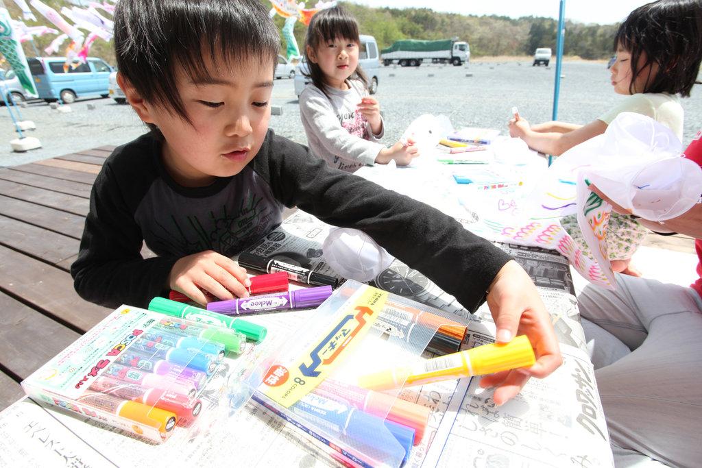 Getting ready! (Soma, Fukushima - 29 Apr 2012)