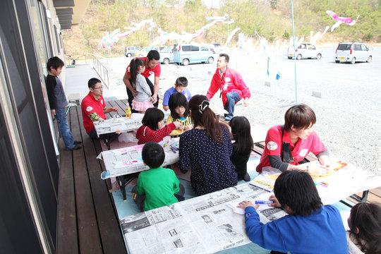 Koinobori time (Soma, Fukushima - 29 Apr 2012)
