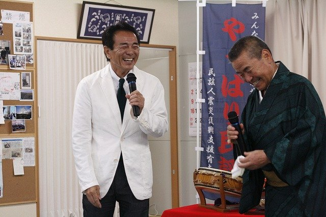Mr. Nekohachi and Mr. Suzuki