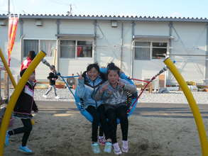 Playgrounds for temporary housing complexes