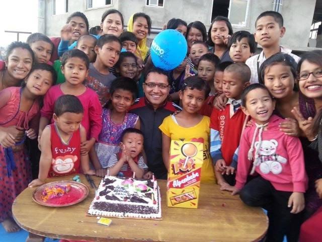 Birthday celebration..