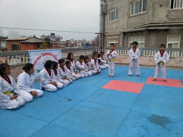 Taekwondo...