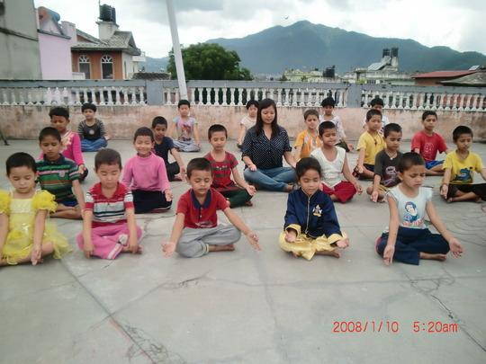 Support for 25 helpless children
