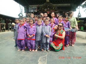 Kavre Visit with Chairperson Menuka