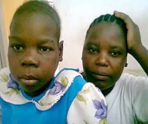 Sada with her sister Aisha