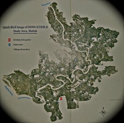 GIS Map of Matlab, BD