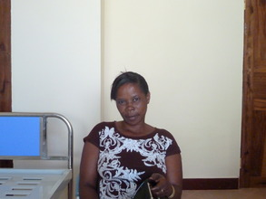 Happiness receives cervical cancer screening.